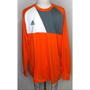 adidas Shirts | Adidas Assista 7 Goalkeeper Padded Elbow Jersey ...
